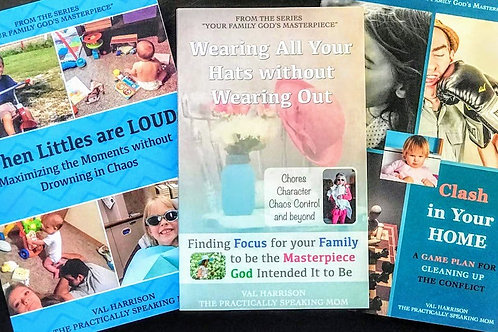 Your Family God's Masterpiece Three Book Series Set