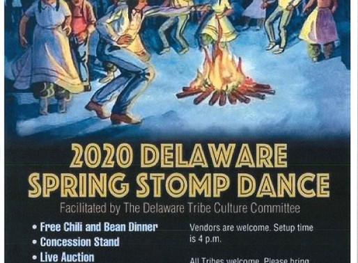 Stomp Dance - March 14, Dewey, OK