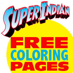 REZIUM STUDIOS RELEASE SUPER INDIAN COLORING PAGES
