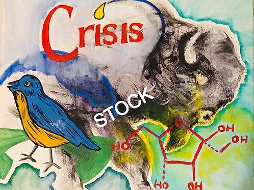"""Crisis""- Copied Print"