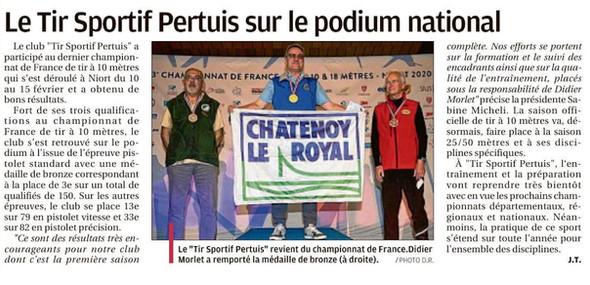 article la Provence du 25 2 20.jpg