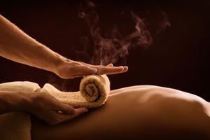 Hot Steam Massage