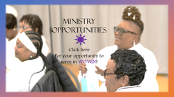 WOVEN Ministry Pages