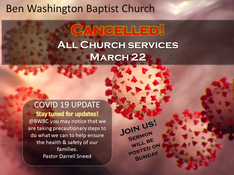 BWBC Covid19 Cancel Church