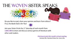WOVEN Book Club Page