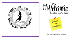 WOVEN Welcome Page