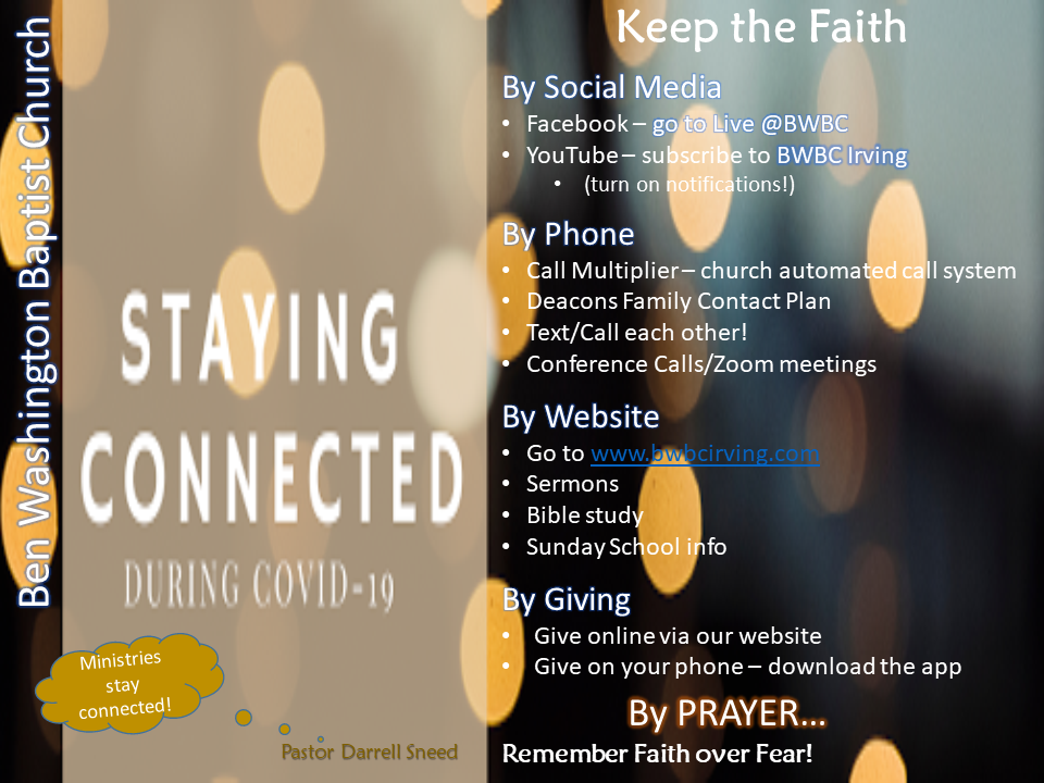 BWBC Stay Connected Msg share