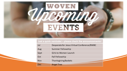 WOVEN Upcoming Events