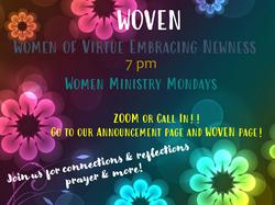 Woven Mondays 2020 share
