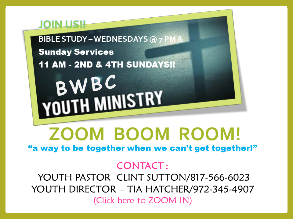 BWBC Youth Zoom Room share2
