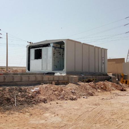 Supplying RMU for AZRAQ substation project.
