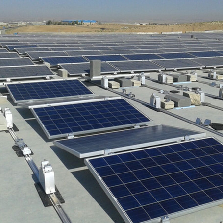 1.5 MW Solar Pannel Project for Jordina Factory