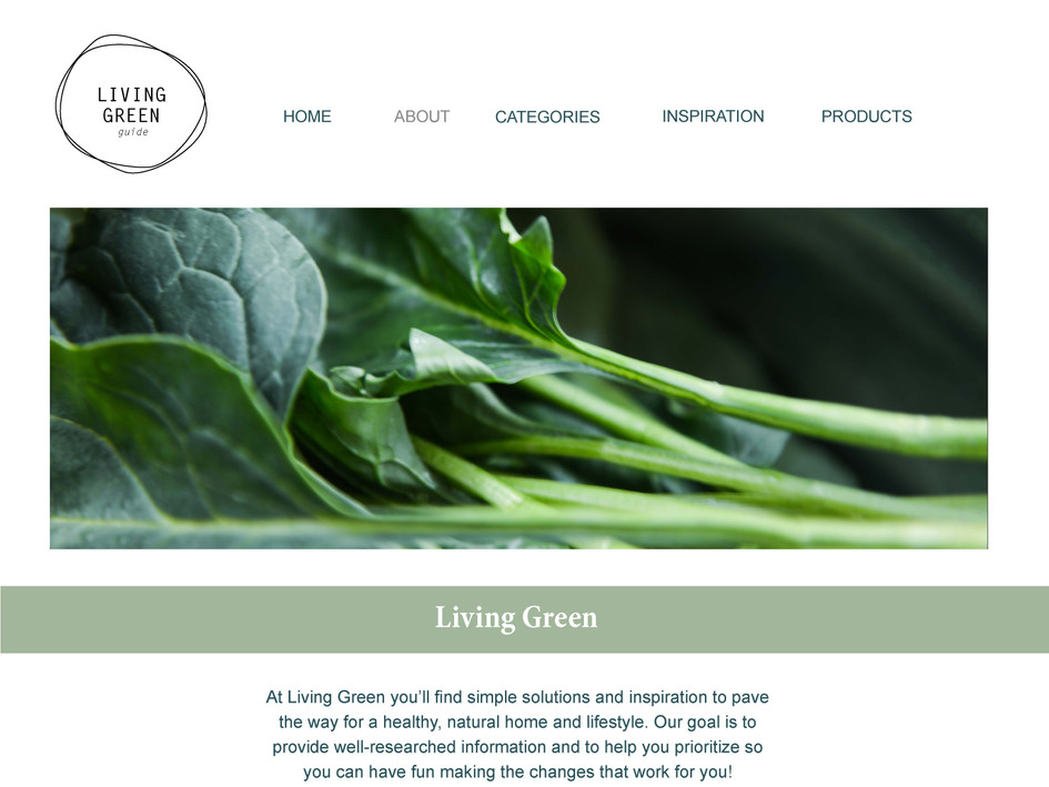 Website About Page
