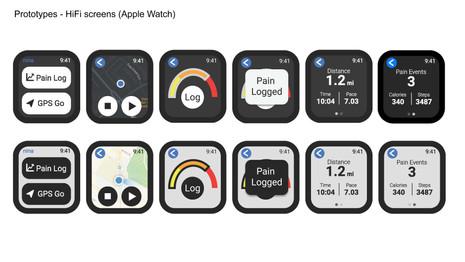 HiFi Screens Apple Watch