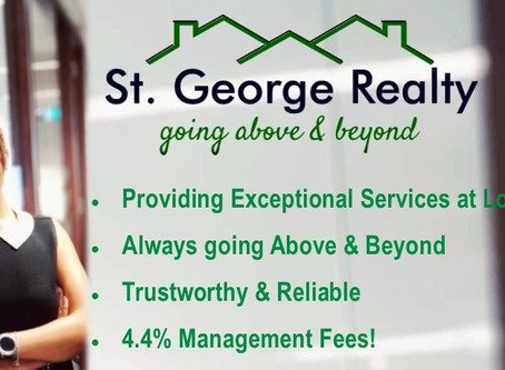 Competitive Property Management rate. Exceptional services