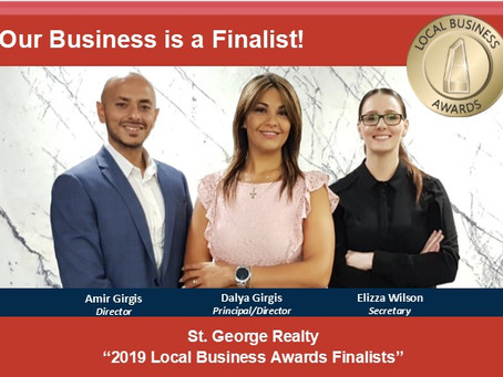 St. George Realty is a Finalist
