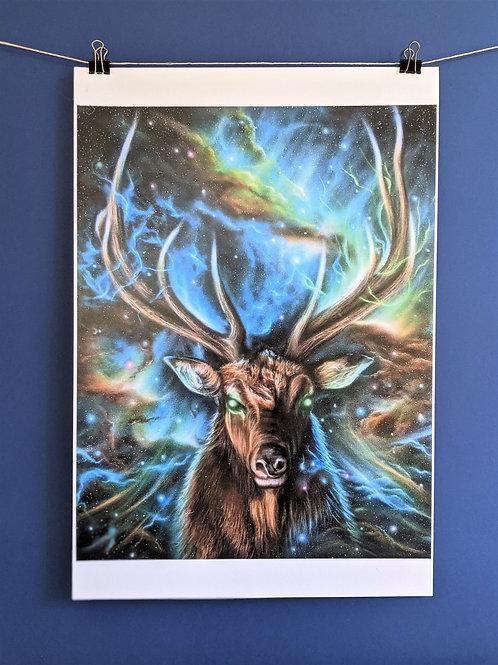 'Spirit Elk' - Print (13x19)