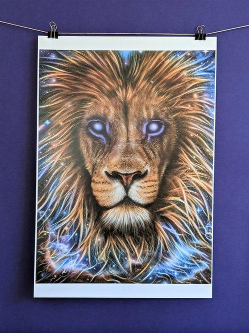 'Spirit Lion'  - Print (13x19)