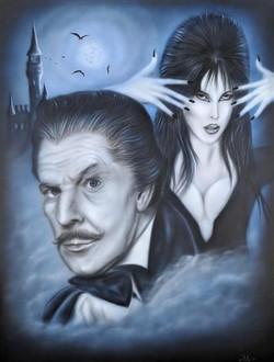 Vincent Price & Elvira