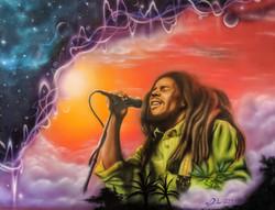 Jimmy Hendrix & Bob Marley