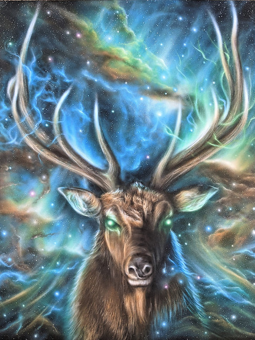 'Spirit Elk' - Original Painting