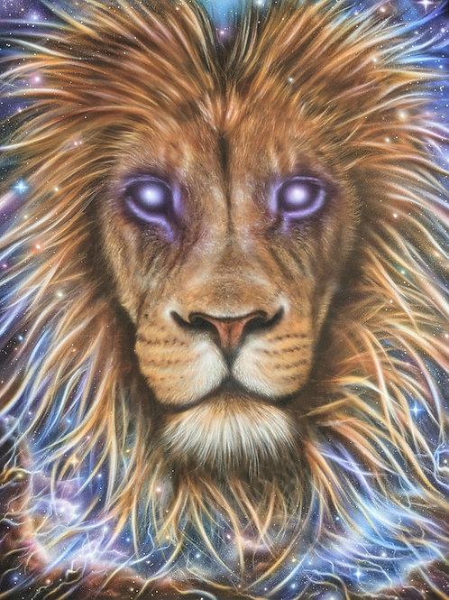 'Spirit Lion' - Original Painting