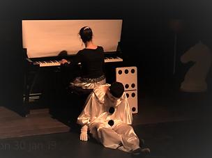 Florence Spire et Philippe Bourgault - Le Piano de Pierrot, spectacle musical jeune public- Création 2015