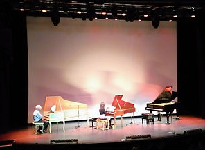 Florence Spire et Mario Raskin - Une petite histoire des instruments à clavier, spectacle musical-création 2016