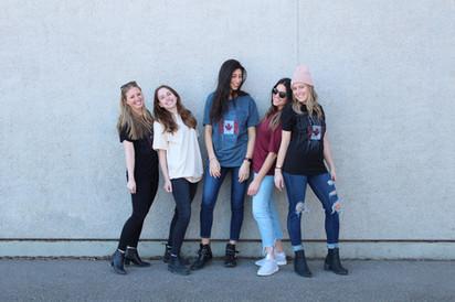 Girls Edge Screen Tees