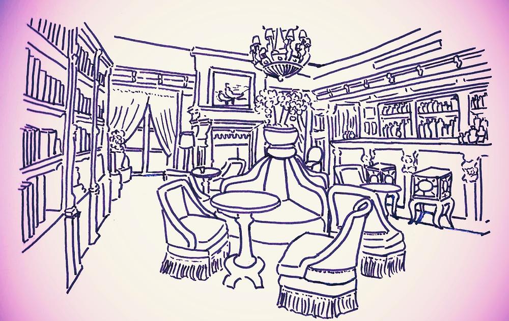 Le Bar de la Maison Souquet - Les Carnets du Lapin Blanc