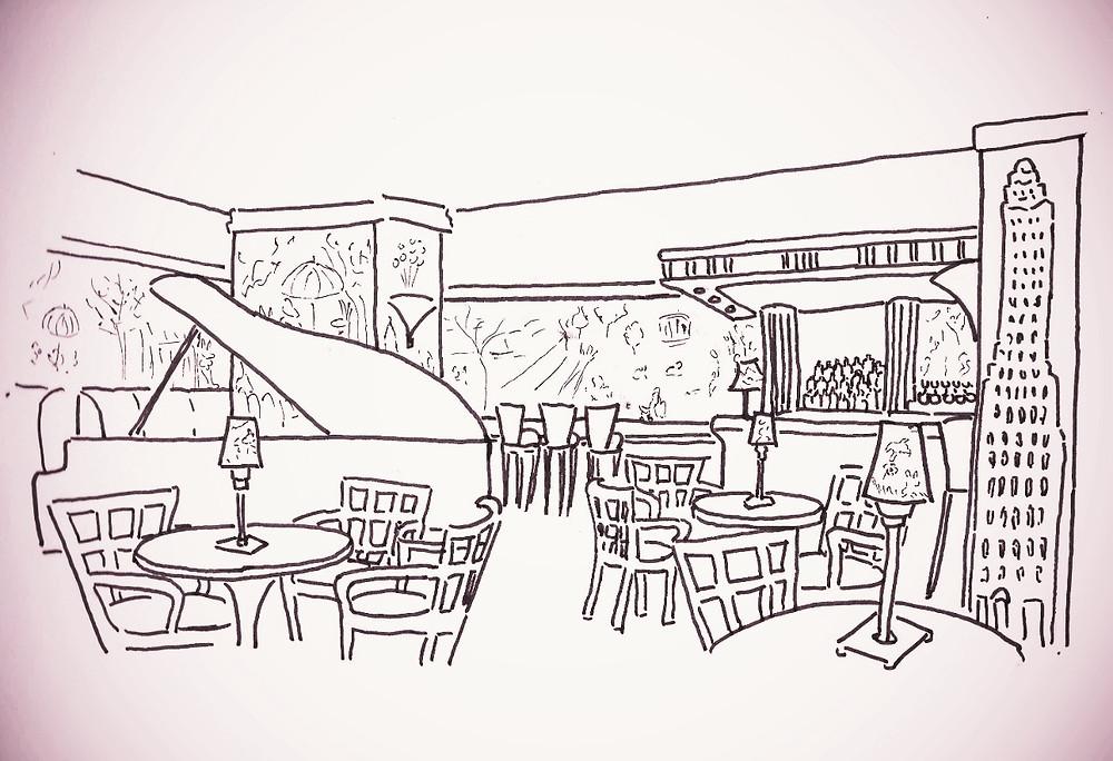 Le Bemelmans Bar du Carlyle Hotel, New York - Les Carnets du Lapin Blanc