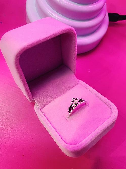 Princess Ring with Velvet Box
