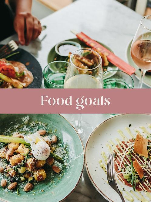 Food goals P2