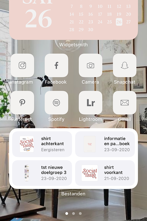 Icons pack voor iPhone - ios14