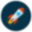 An image of a rocket.