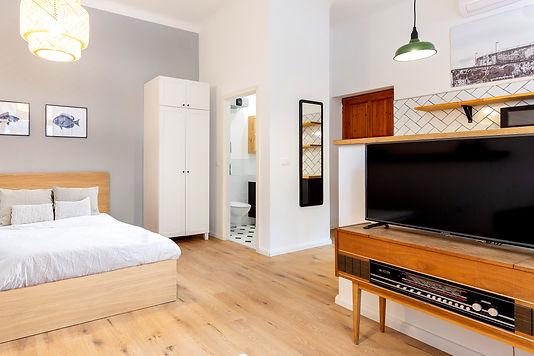 עיצוב דירת סטודיו בבודפשט