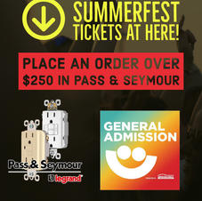 Pass and Seymour Summerfest Promotion