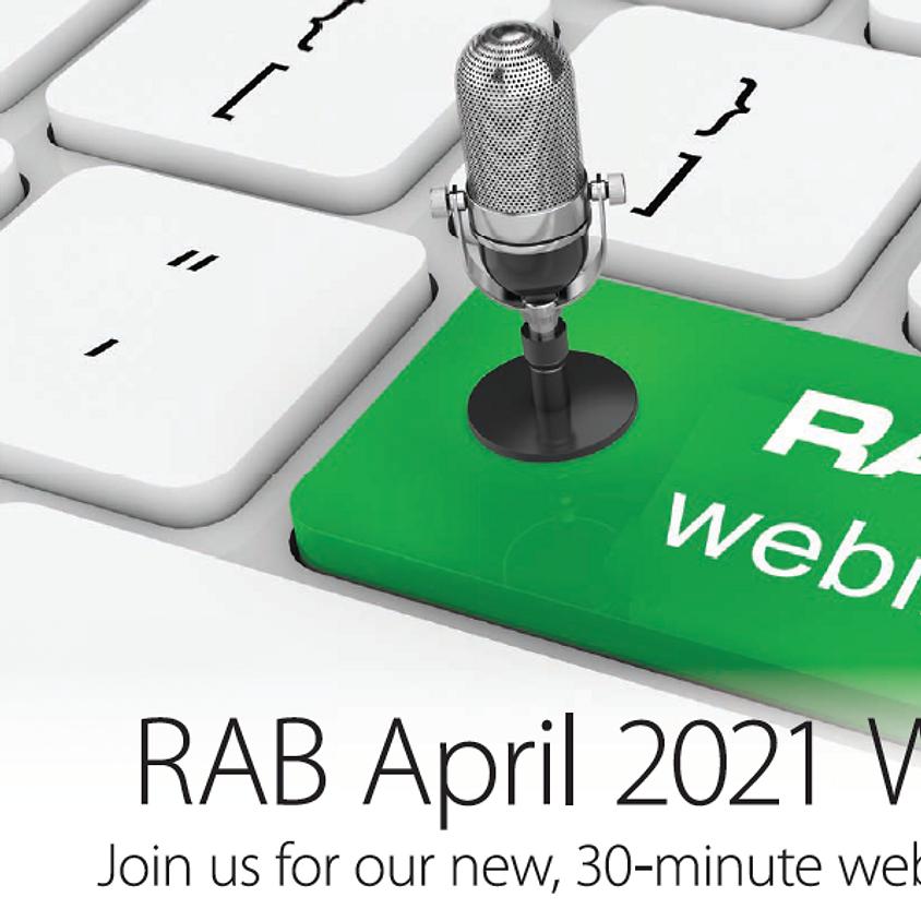 RAB Lighting April Webinar