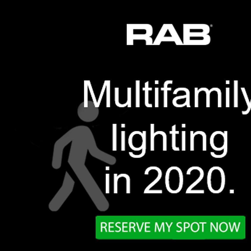 Multi Family Lighting with RAB