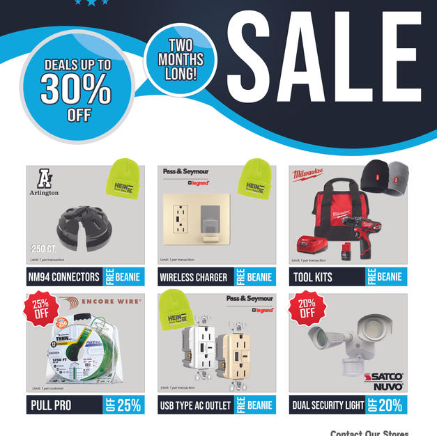 End of Year Flyer Savings Flyer
