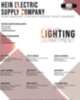 Lighting Department Directory new design