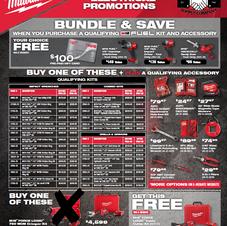 P1 Milwaukee Tool Offers