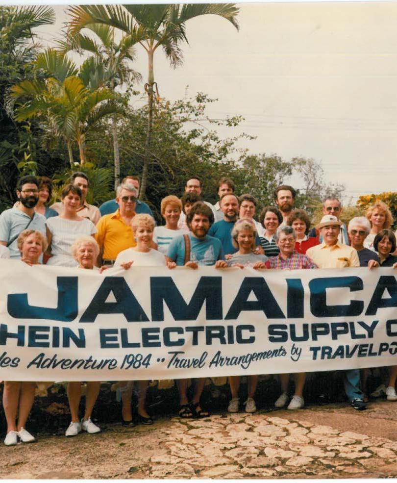 Jamaica Company Trip 1984
