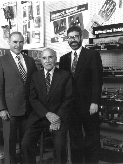 Sid Kohlenberg, Jack Kohlenberg and Ron Kohlenberg