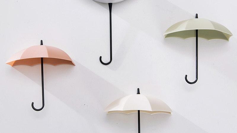 Umbrella Key Hangers