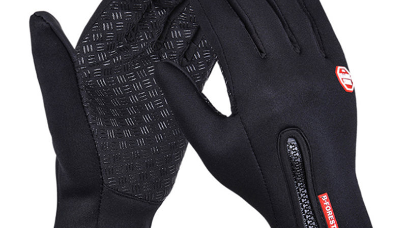 High Quality Touch Screen Windproof Horse Riding Gloves