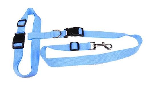 New waist pet dog leash running jogging puppy dog