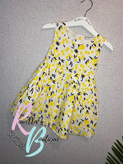 Lucy lemon dress