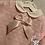 Thumbnail: Arabella pink knitted long sleeve dress