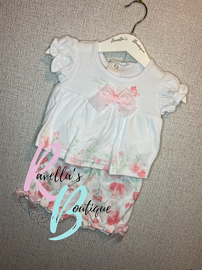 Izzy top and shorts set